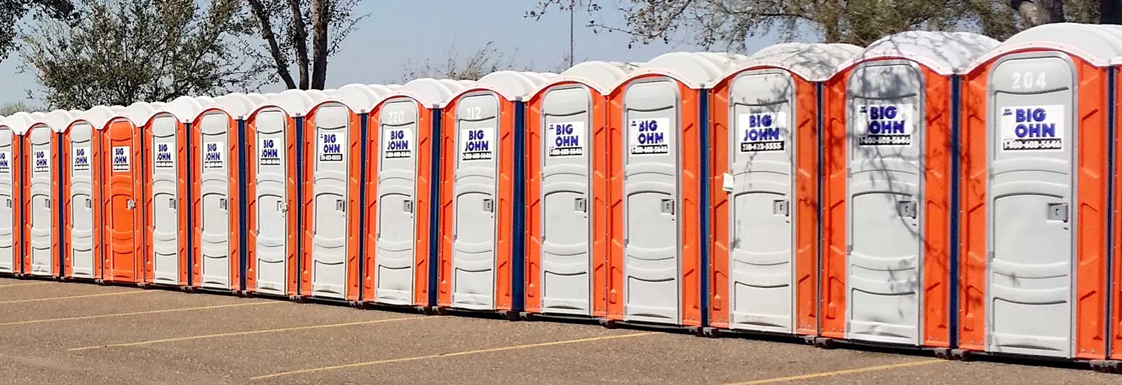 Portable restroom rentals in South Texas and Central Texas