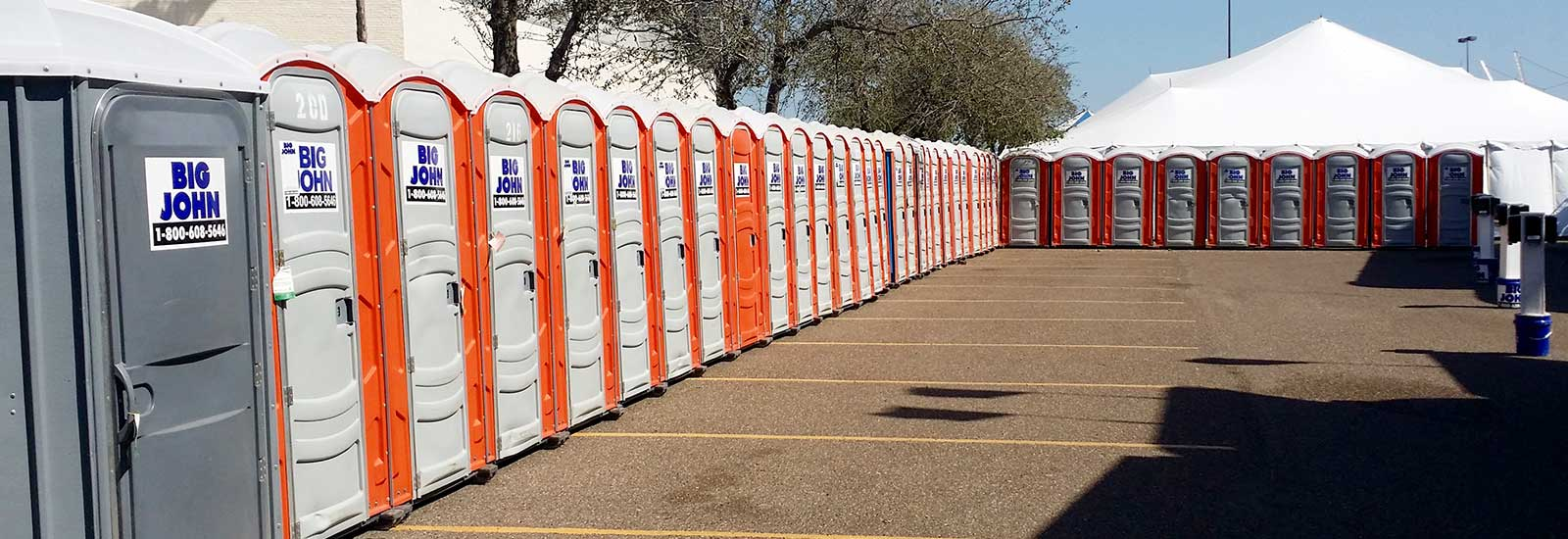 Portable toilet rentals in the Rio Grande Valley and San Antonio
